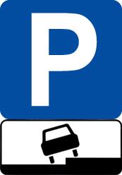 Знаки, разрешающие парковку на тротуарах города Заречного
