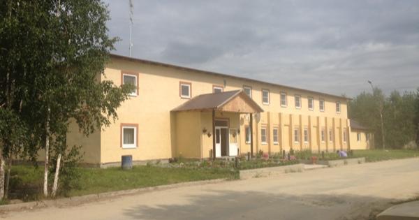 Лесная столовая в городе Заречном